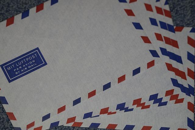 Briefe Mit Luftpost : Brief luftbrief luftpost · kostenloses foto auf pixabay
