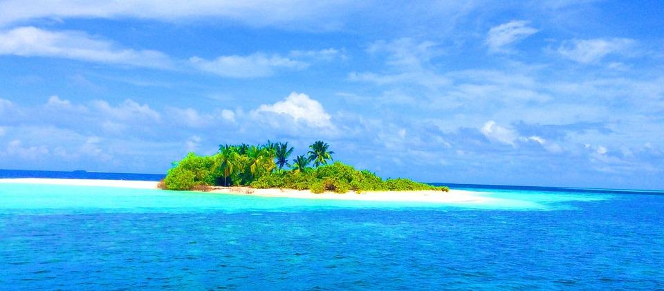 Kostenloses Foto: Malediven, Strand, Insel, Urlaub