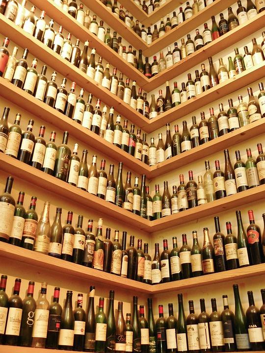 Butelek Wina Stojak Wino Butelki Darmowe Zdjęcie Na Pixabay