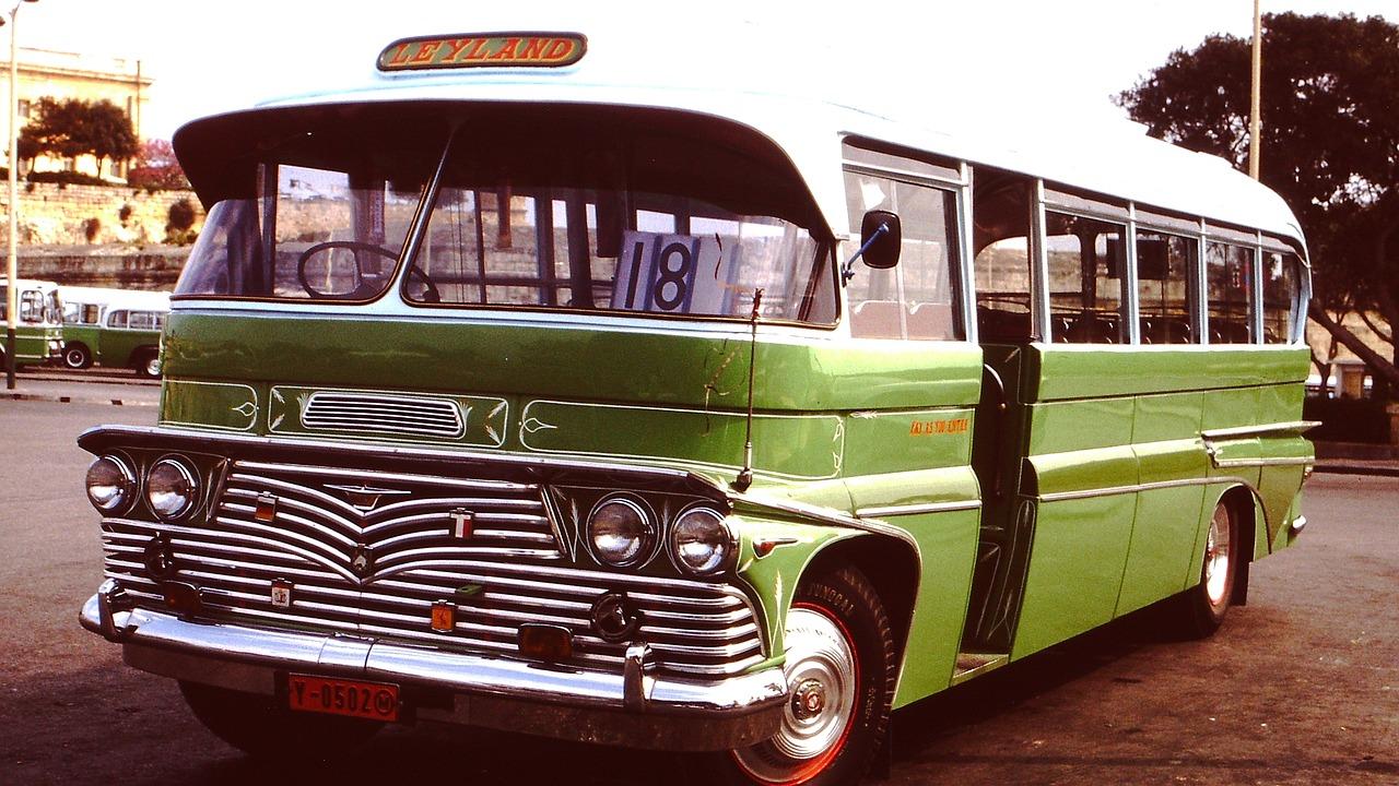 Картинки автобусы ретро