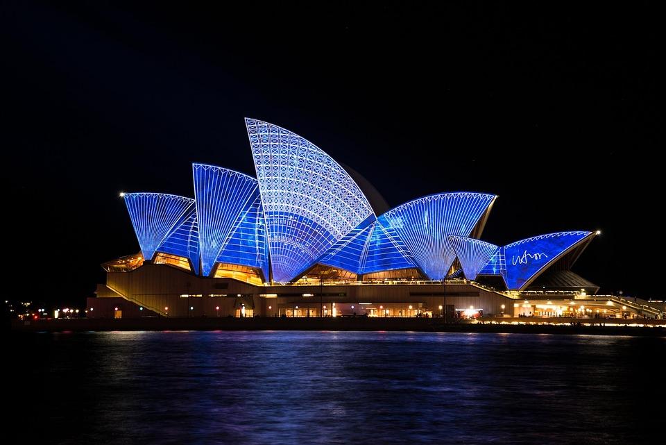 Sydney, Opera, House, Australia, Sydney Harbour, Vivid
