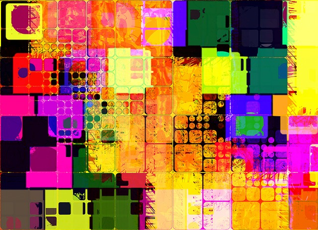 Free illustration  Abstract  Squares  Background  Free
