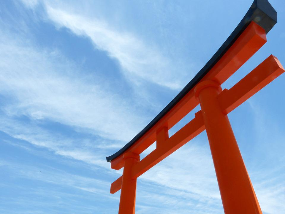 鳥居, 京都, 日本, 神社, 京都府, ゲート, 仏教, 寺, アーキテクチャ, 歴史, 構造, 入り口
