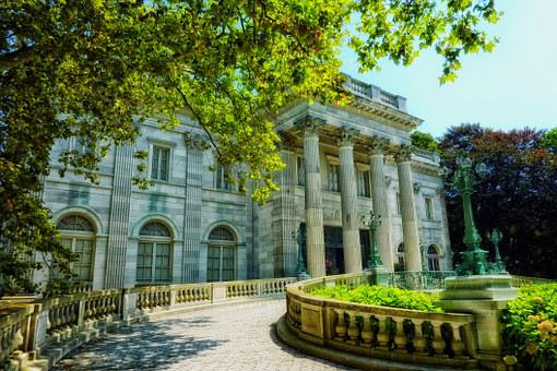 The Marble House Newport Rhode Island Land