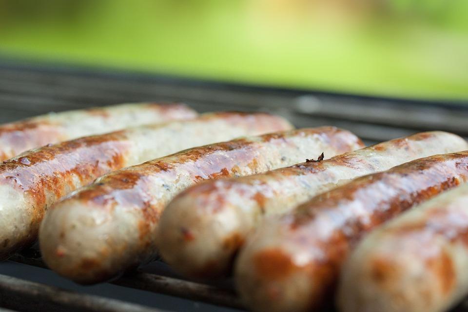 Salsicce Alla Griglia, Salsiccia, Bratwurst, Salsicce