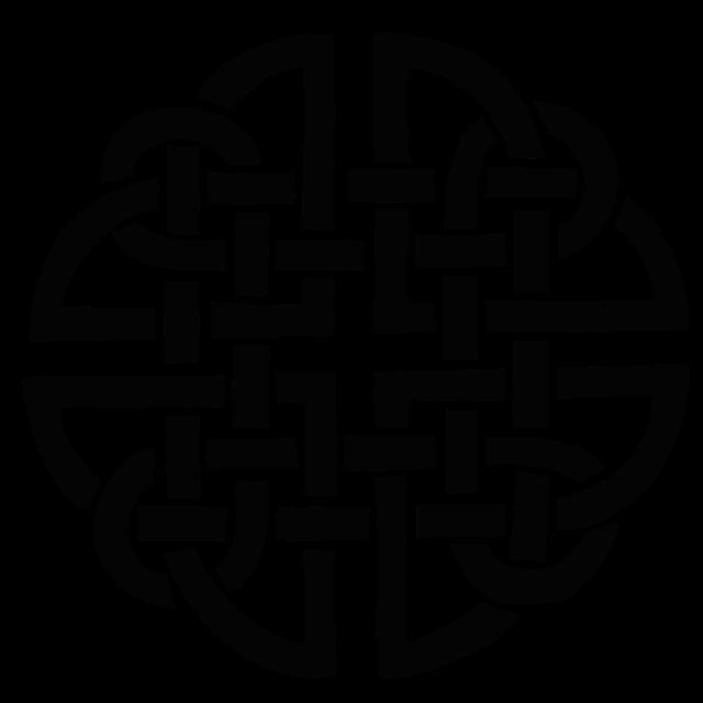 Free Illustration: Celtic, Knot, Silhouette, Shape