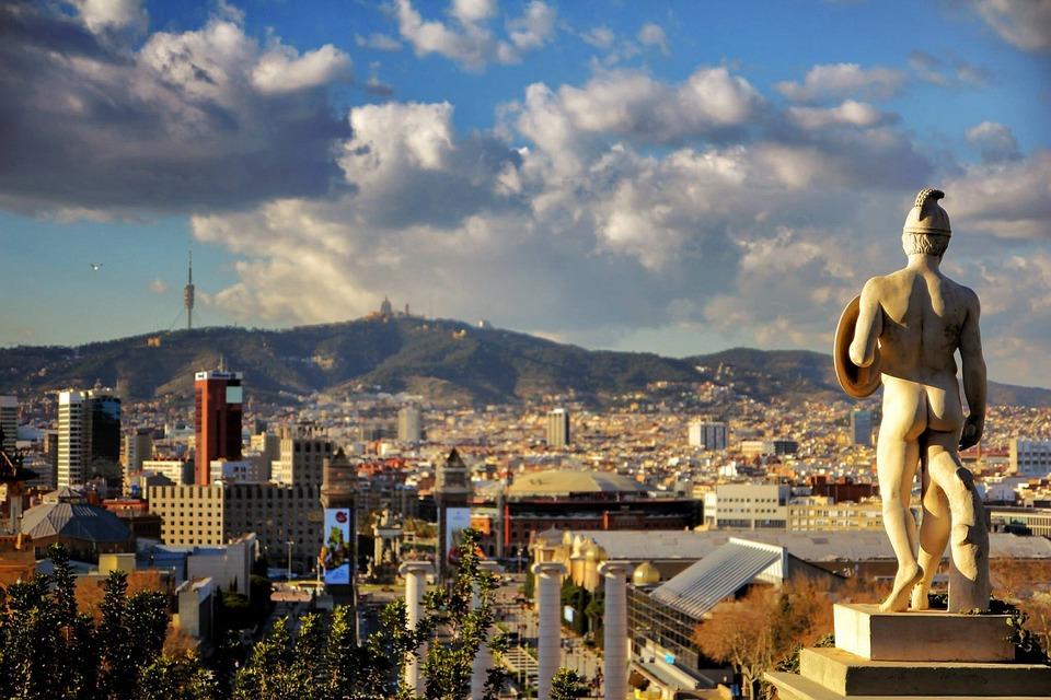 kota barcelona pemandangan perkotaan