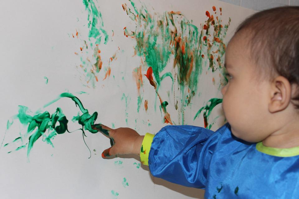 Finger Painting Kid Art · Free photo on Pixabay