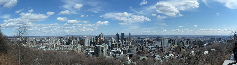 Ville, Bâtiment, Montréal, Mont Royal