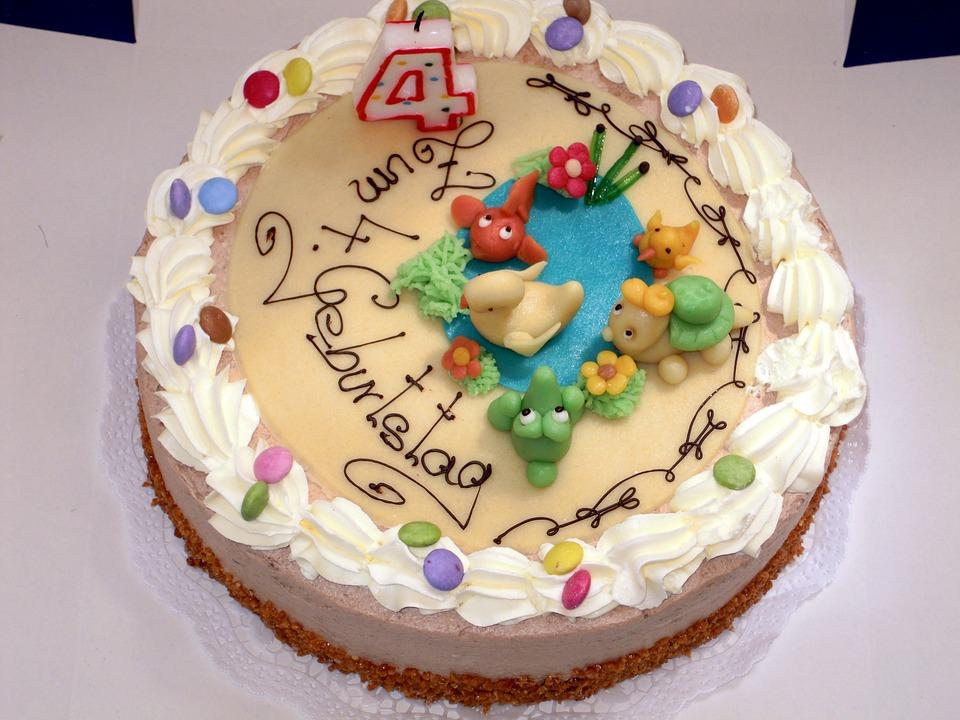 Famoso Foto gratis: Torta, Torta Di Compleanno, Dessert - Immagine gratis  OM69