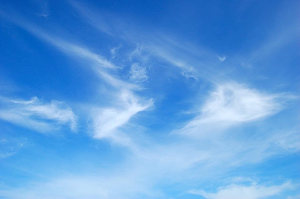 kostenloses foto blauer himmel wolken himmel blau kostenloses bild auf pixabay 369360. Black Bedroom Furniture Sets. Home Design Ideas