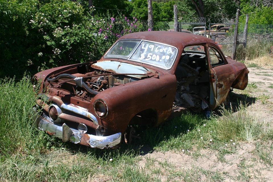ford abandoned car 183 free photo on pixabay