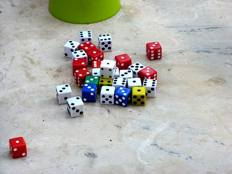 Dice, Toy, Game, Casino, Chance, Luck