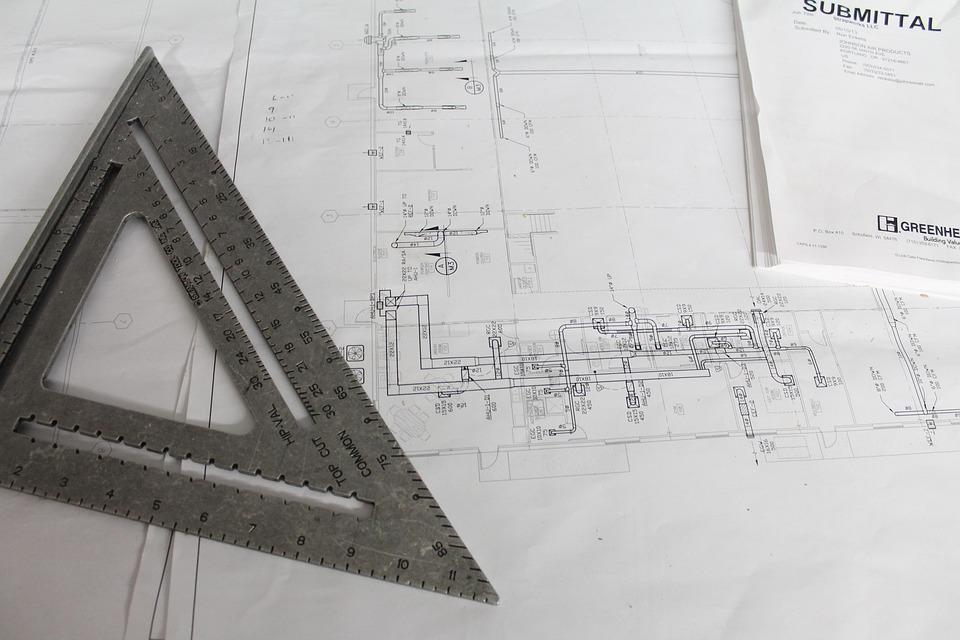 Construction, Plans, Square, Plan, Building, Architect