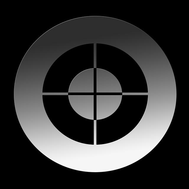 Free Illustration: Crosshair, Visor, Focal Point