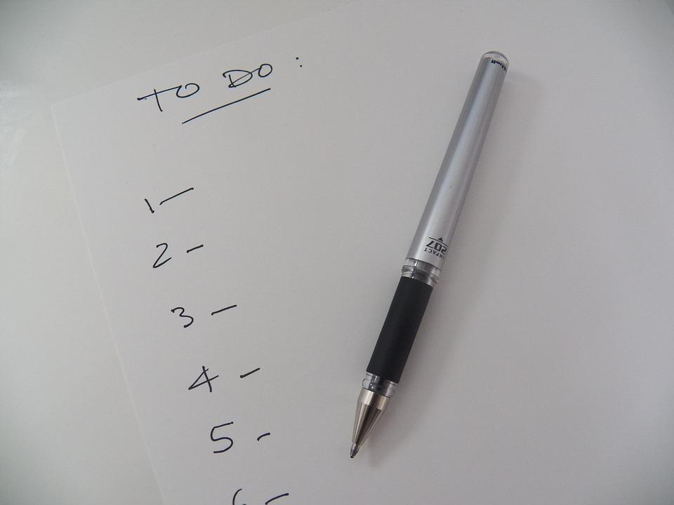 Lijst, Te Doen Lijst, Herinnering, To-Do, Kantoor