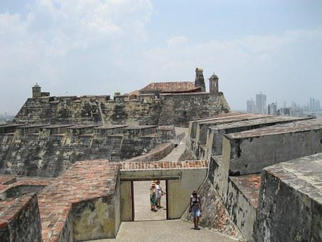 Castle, Cartagena, Wall