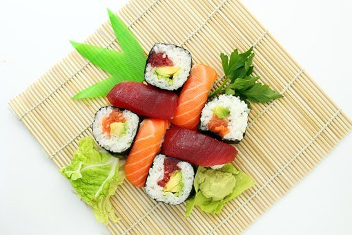 Sushi Japanese Delicious Asian Food Yummy
