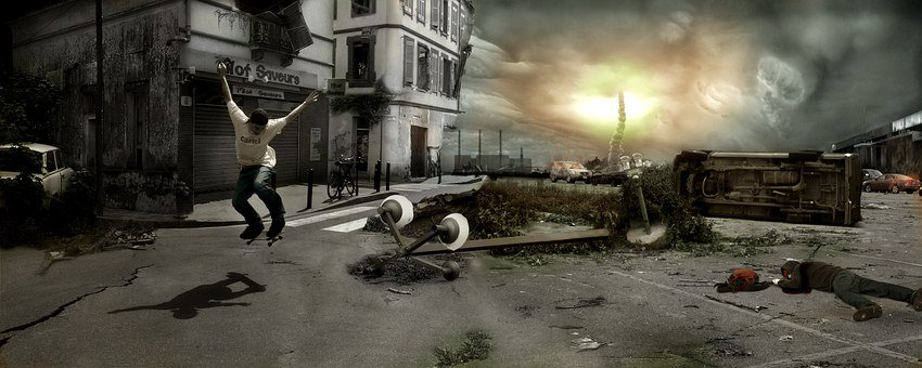 Skate Apocalyptic Doomsday Crash Night Rev