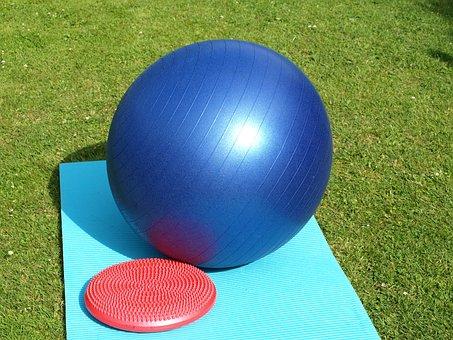 運動ボール, バランス クッション, 体操, ボール, スポーツ, フィットネス