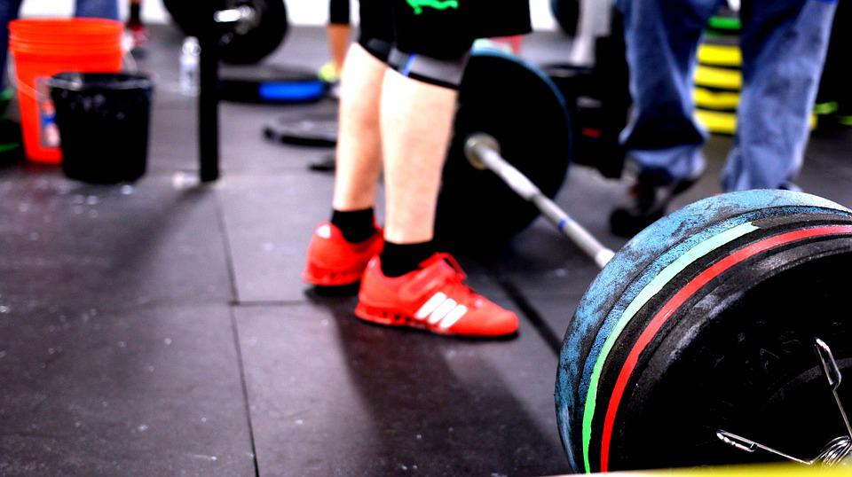 Barbell Crossfit Lifting Gym Fitness Exercise