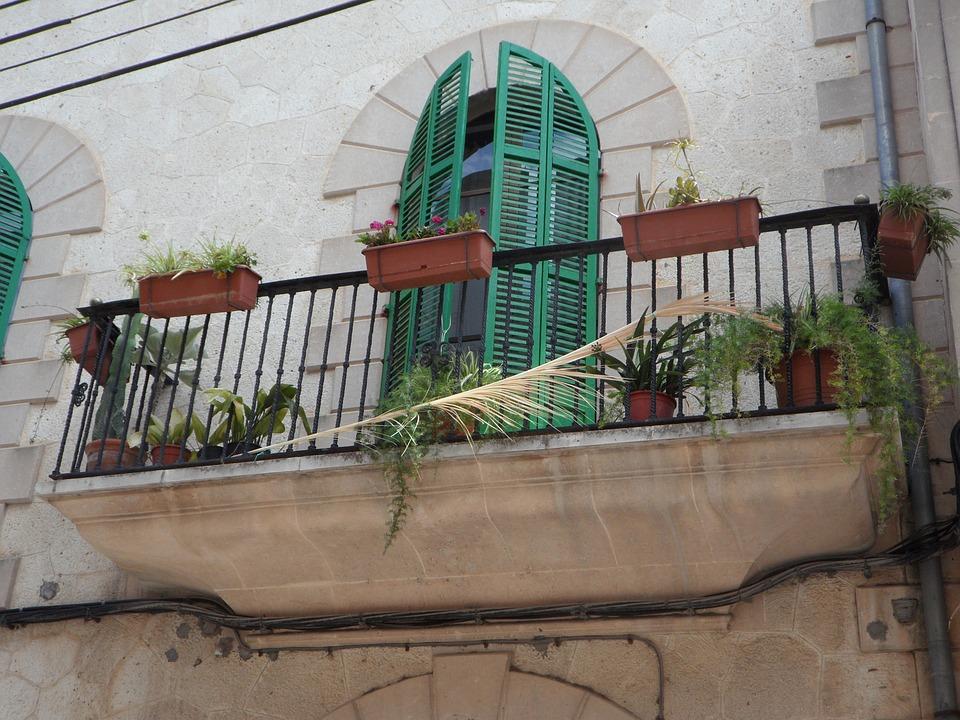 Balkon Mediterran Flugelturen Kostenloses Foto Auf Pixabay