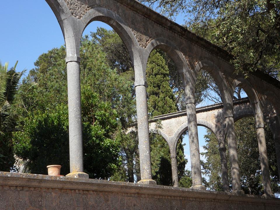 Arcos Arco De Medio Punto Foto Gratis En Pixabay - Arcos-de-jardin