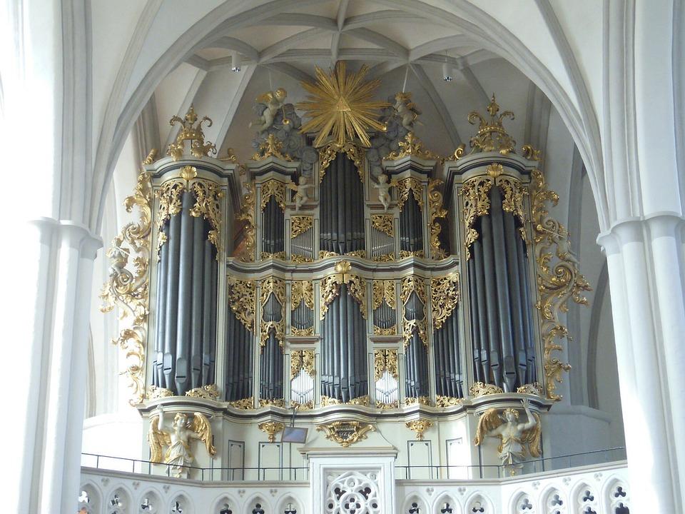 Berlin, Église, Orgue De L'Église, Orgue