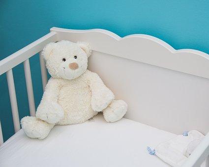 Бебе, Hug, Синьо, Легло, Сън, Тих