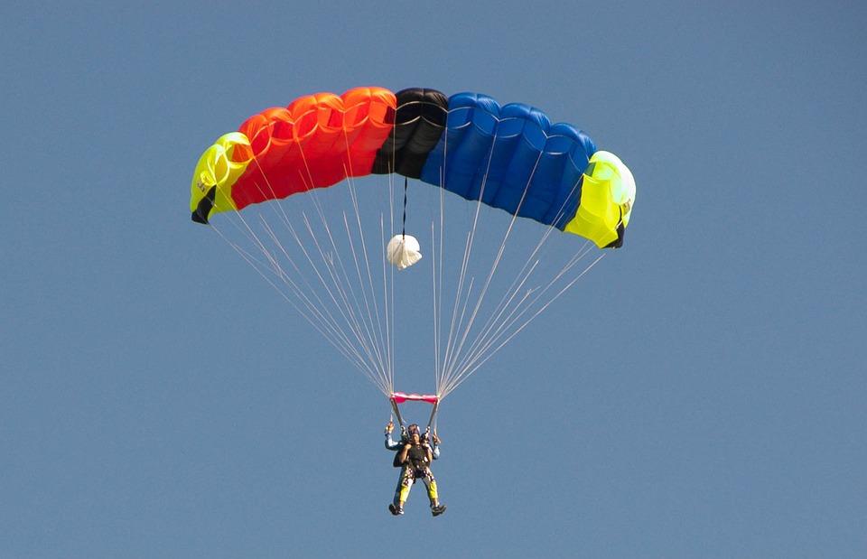 photo gratuite parachutiste parachute image gratuite