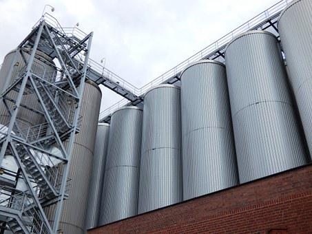 Brewery, Tychy, Vats, Vat, Silo
