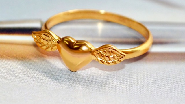 Free photo Gold Ring Jewelry Gold Plated Free Image on
