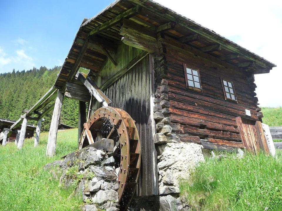 Photo gratuite roue aubes moulin eau bois image for Moulin en bois pour jardin