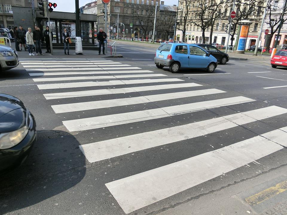Free Photo Zebra Crossing Road City Free Image On
