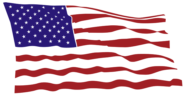 Free Vector Graphic Flag Usa Red Striped Blue Star