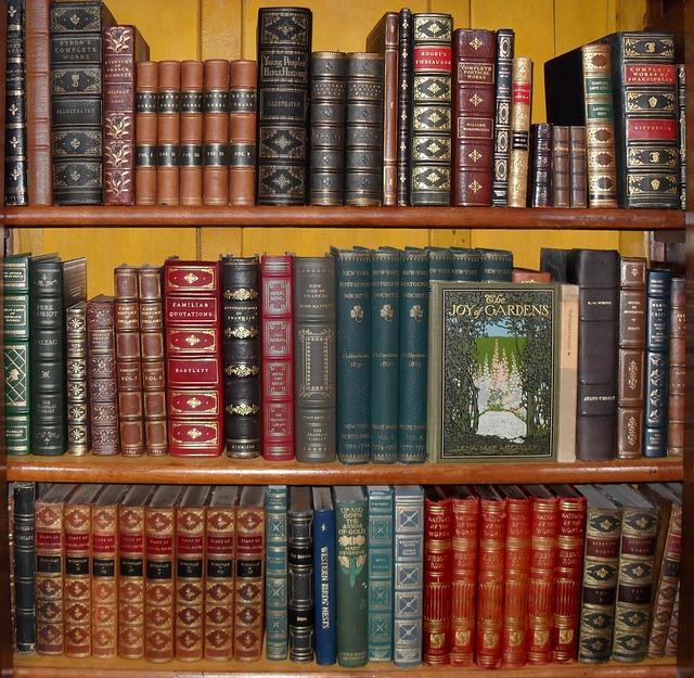 Bookshelf Coffee Public Domain