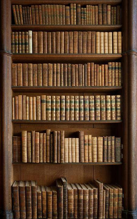 Free Photo Books Bookcase Old Books Free Image On Pixabay - Old book case