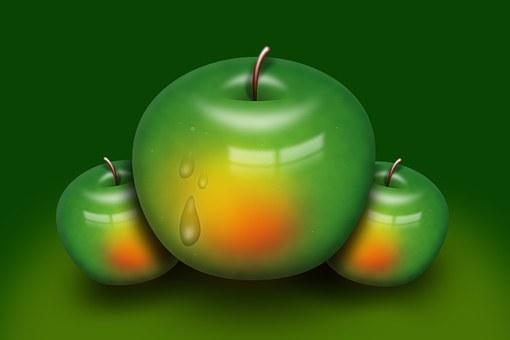 Apple, Fruit, Kitchen, Healthy, Vitamins