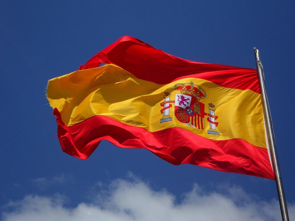Spanien, Fahne, Flagge, Flattern, Spanisch, Cabrera