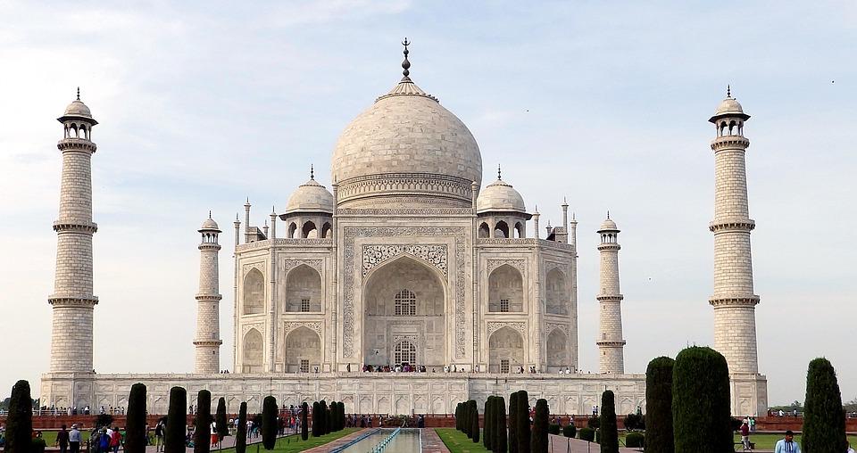 Taj Mahal, Indie, Agra, Uttar Pradesh, Budova, Památník
