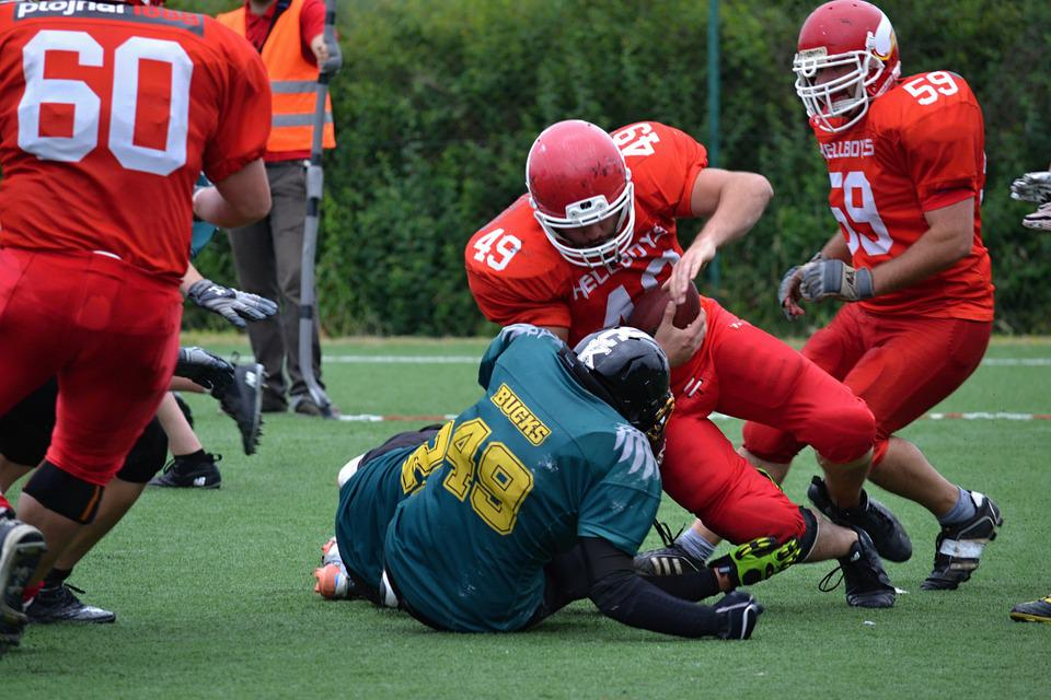 american football football contact game opponent