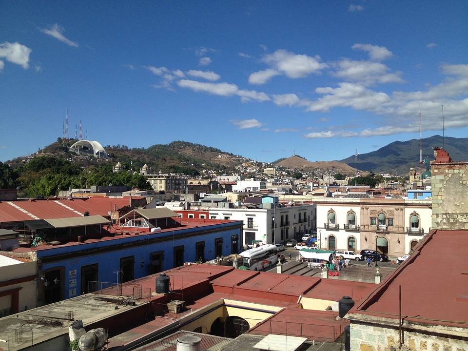 Free photo oaxaca city houses mexico free image on for Oaxaca to mexico city