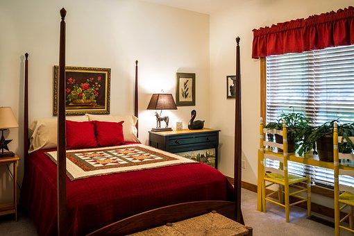 Bedroom Guest Room Sleep Furniture Four Po