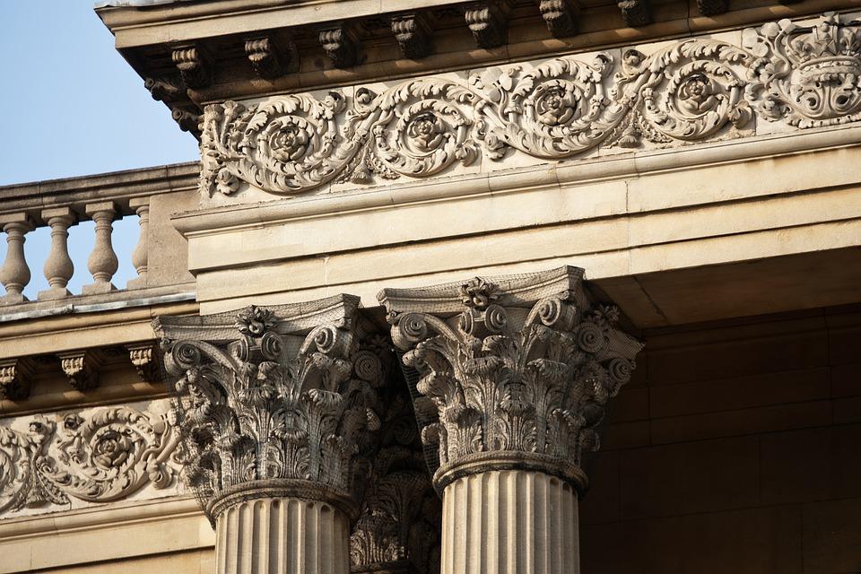 Corinthian Columns Entablature Balusters