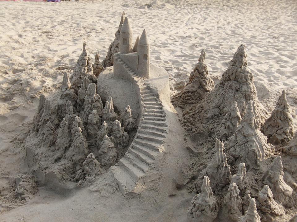 Istana Pasir Pantai Liburan Foto Gratis Di Pixabay