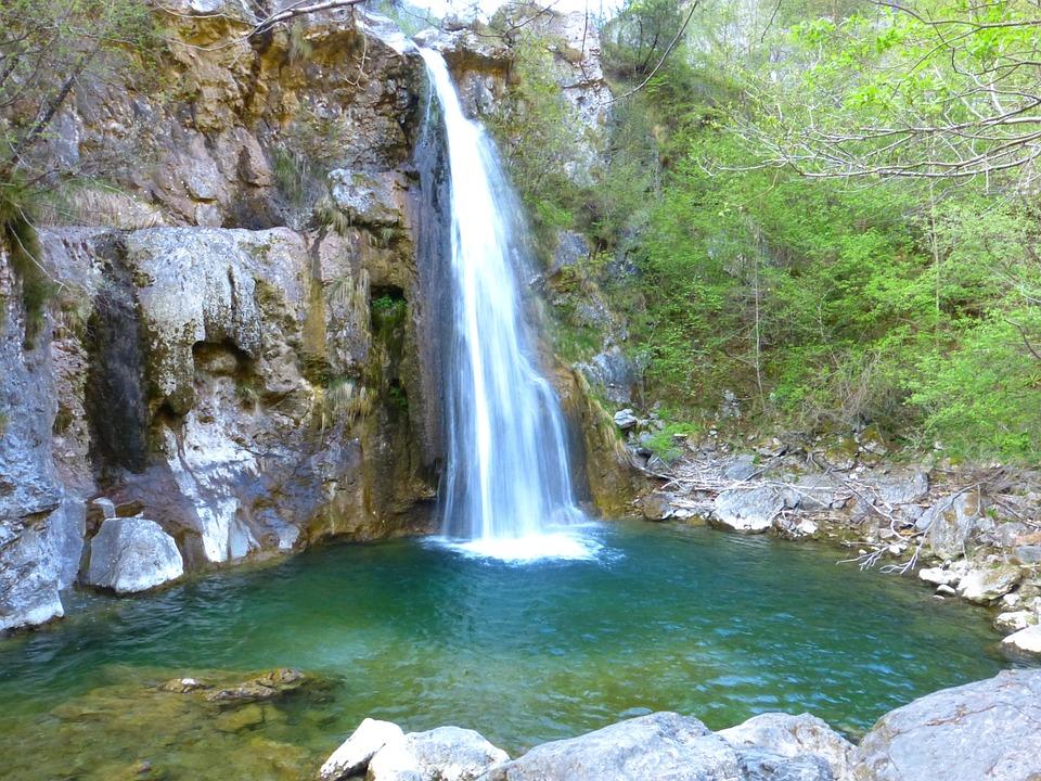Cascata Ampola Cascada El Agua Foto Gratis En Pixabay