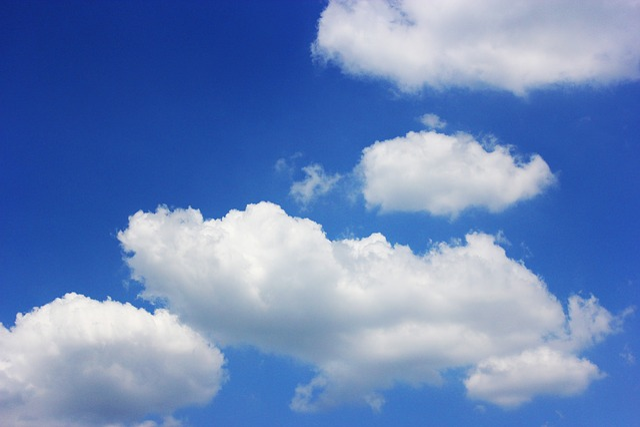 Free Photo: Sky, Cloud, Sunshine, Summer, Solar