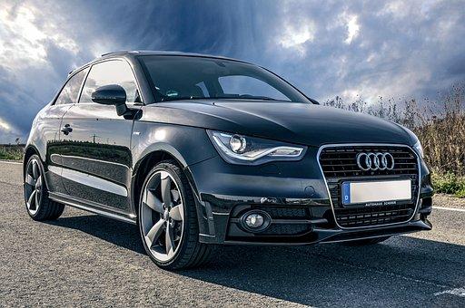 Auto, Audi, Schwarz, Fahrzeuge, Tuning