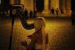 harp, musical instrument, classical