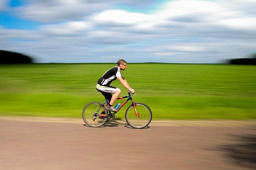 自転車, マウンテンバイク, スポーツ, サイクル, 乗る, 楽しい, 屋外